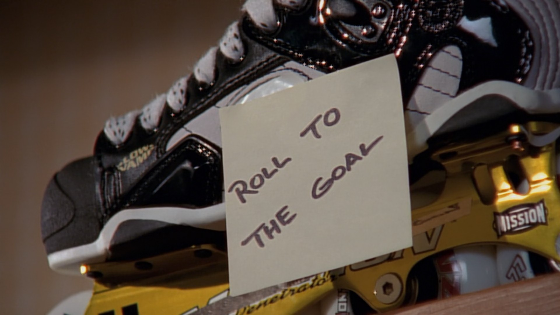roll to the goal